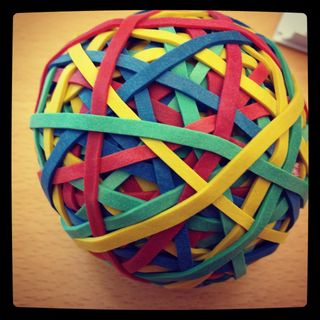 Rubberbandball